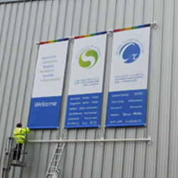 Large Exterior School Banners