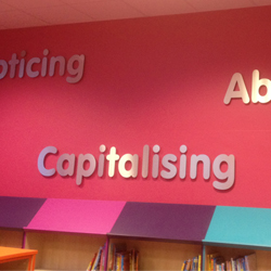 School Library Wall Graphics