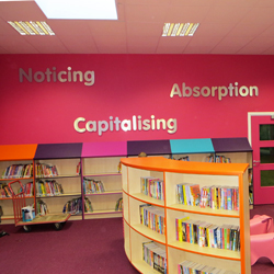 School Library Wall Words