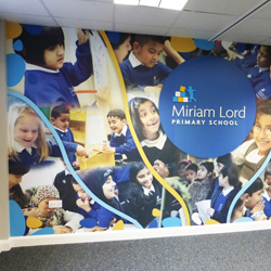 Primary School Wall Mural