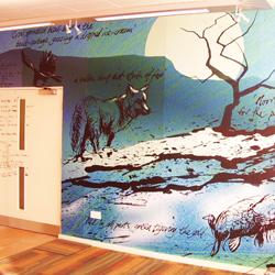School Custom Wall Mural