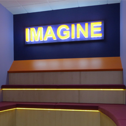 School Imagine Wall Letters