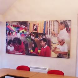 School Photo Montage Canvas