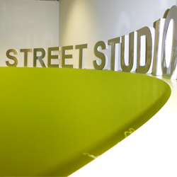 Silver Street Studio 3D Free Standing Sign