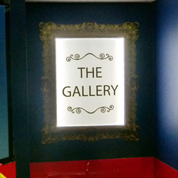 Gallery Lightbox Sign
