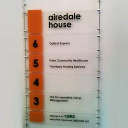 Acrylic Directional Signage