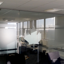 Canadian Maple Leaf Glass Manifestation Frost