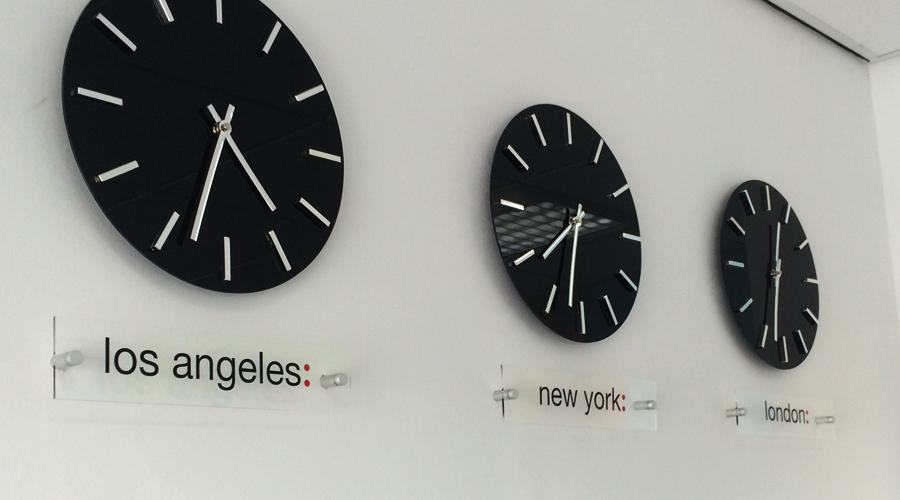 PH Media Clock Plaques