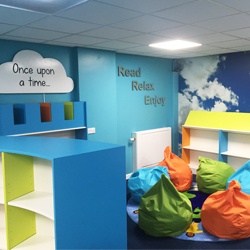 Library Wall Graphics