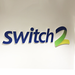 Switch 2 Acrylic Letters