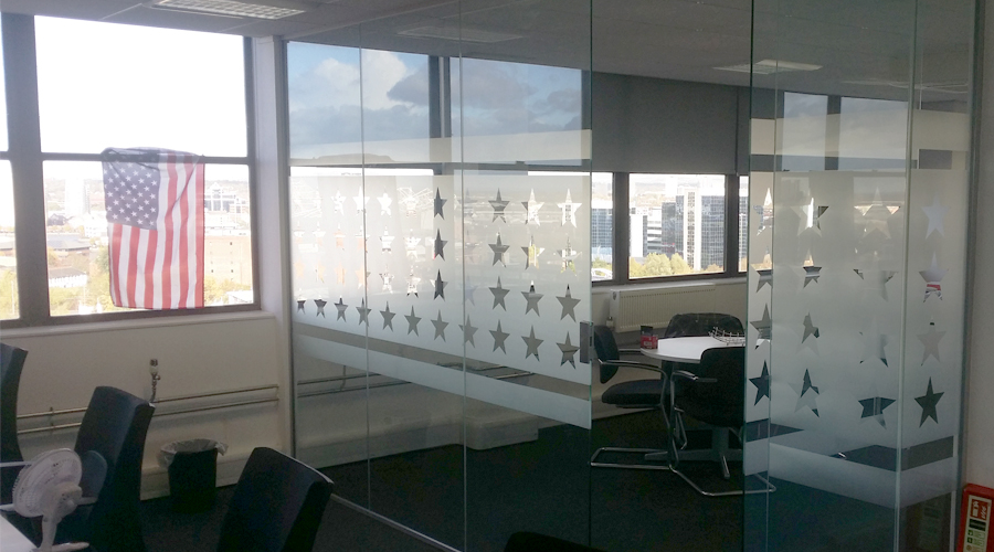 USA Star glass Manifestation