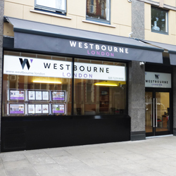 Westbourne Estate Agents Illuminated Signs and ornings