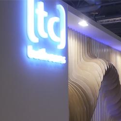 LED Lit lettering and Spot lighting