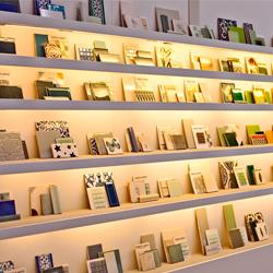 LED illuminated shelves