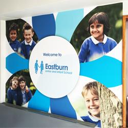 Eastburn School Wall Mural