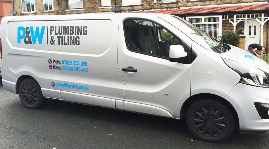 P+W Van Graphics