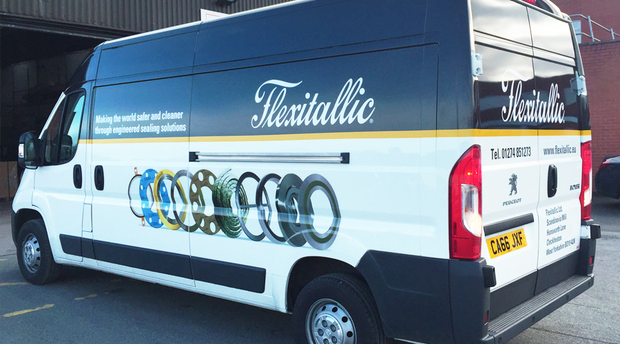 flexitallic 2017 van graphics