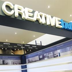 Creative Hub 3D letters