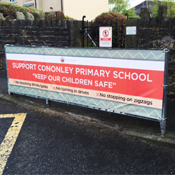 School Road Safety Banner