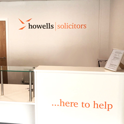 Howells Reception Acrylic Logos