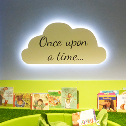 Once Upon A Time Cloud Display for School Nursery