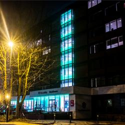 Building LED colour RGB Lighting