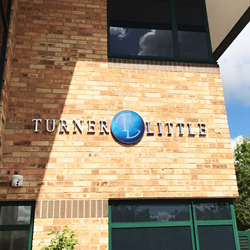 Turner and Little 3D Stainless Steel Letters