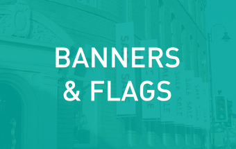 Click here to see more about our banner and flag printing services