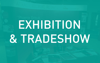 Click here to find out more about our exhibition and tradeshow graphics