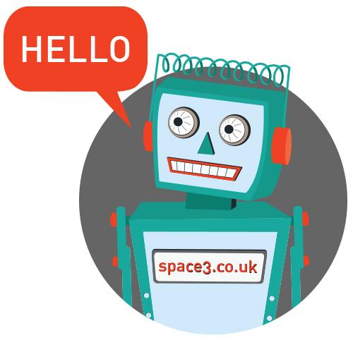 Hello Robot - Dewsbury Signmakers