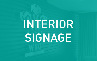 Click here to see our Interior Signage