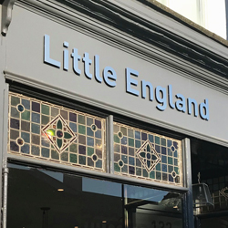 Little England 3D Stainless Steel Signs