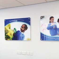 Custom School Acrylic Displays