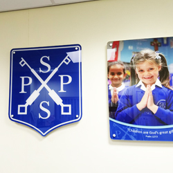 Acrylic Displays for Schools - photographic