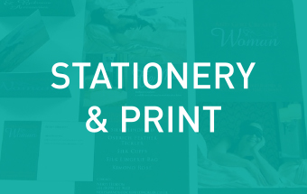 Click here to find out more about our stationery and print services