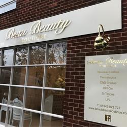 Gold Beau Beauty Sign