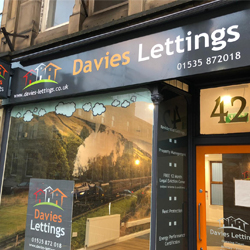 Davies Lettings Signage - Signtray
