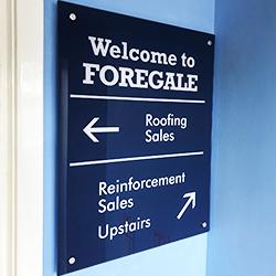 Forgales Acrylic plaque