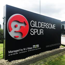 Gildersome Spur 3D Sign
