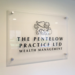 Pentelow Clear Acrylic Plaque