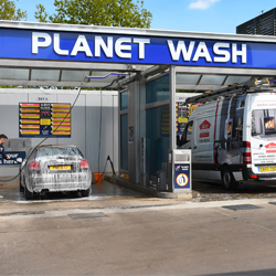 Planet Wash Stand Off Letters
