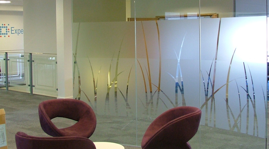 Glass Manifestation Space3 Signage Graphics Display