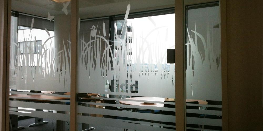 Glass Manifestation Space3 Signage Graphics Display